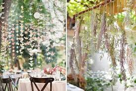 wedding backdrop greenery hanging wedding decor roundup tatters