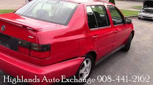 red volkswagen jetta 1999 volkswagen jetta wolfsburg red for sale youtube