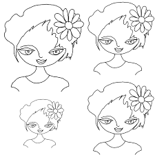 free printable paper dolls to color art doll heads hop off print