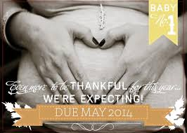 thanksgiving pregnancy announcement photo announcement