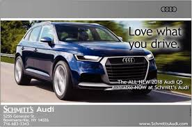 audi ads what you drive schmitt u0027s audi bowmansville ny