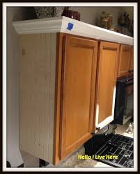 installing crown molding on kitchen cabinets sensational idea 15