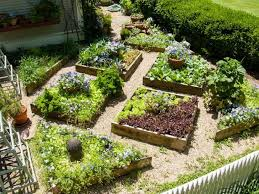 Vegetable Garden Landscaping Ideas Fall Vegetable Garden Landscape Raised Vegetable Garden With