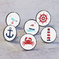 themed knobs nautical at sea boat themed cupboard drawer knobs by pushka home