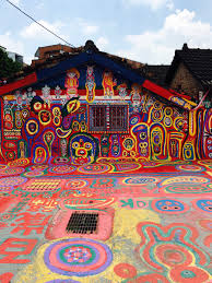 see photos from the real rainbow village in taiwan time