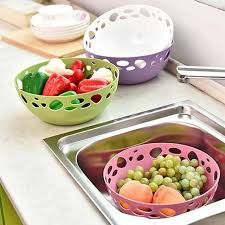 vapeur cuisine cuisine vidange panier vapeur fruits à laver légumes et fruits