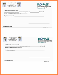 doctor note template free images of for school free printable best return to school doctors