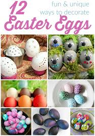 decorations for easter eggs easter egg decorating ideas kids it is a keeper