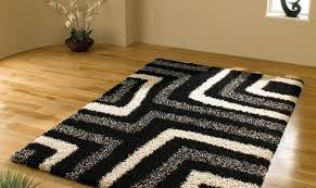 top 84 class fascinate black and white chevron rug outstanding