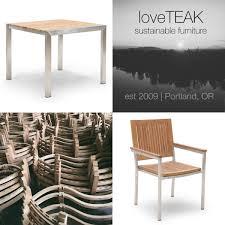 Sustainable Dining Table Loveteak Warehouse Sustainable Teak Patio Furniture