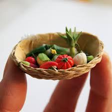 cuisine chou mini légumes fruits jouet dollhouse cuisine alimentaire ensemble