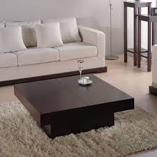 how to design dark brown coffee table for cool coffee table sets