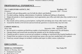 Caregiver Resume Example by Caregiver Resume Examples No Experience Reentrycorps