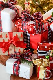 wrapped christmas boxes personalized christmas wrapping boxwood clippings christmas