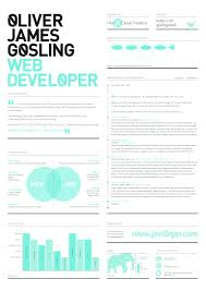 Best Resume Font For Designers by Beautiful Well Designed Resume Examples For Your Inspiration