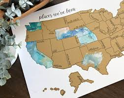 map of united states s day sale watercolor scratch map united