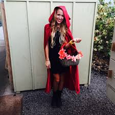 home made little red riding hood costume diy diy projects
