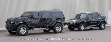 armored hummer knight armored luxury suv compared to hummer h2 my style
