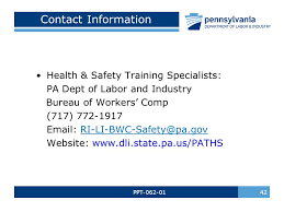 bureau workers comp ppt distracted driving bureau of workers comp pa for