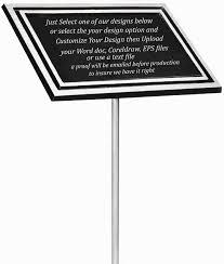outdoor memorial plaques outdoor aluminum memorial plaque
