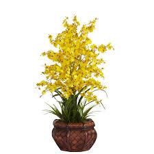 furniture yellow small flower artificial flower arrangements for