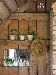 salvaged wood interior walls insteading