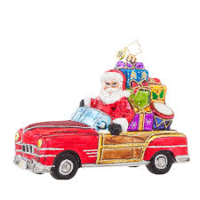 christopher radko ornaments 2016 radko vintage ride ornament 1017630