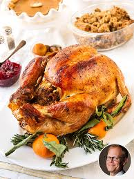 alton brown s grilled thanksgiving turkey recipe and tips great