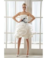 organza wedding dress ivory wedding dress tutu with color a line strapless style