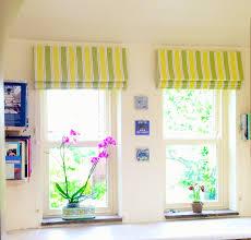 fresh stripes brighten a cottage kitchen u2013 bespoke curtains