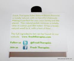 talon tales fresh therapies eden natural nail polish patent
