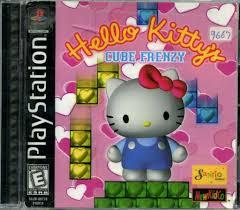 109 3712 sony playstation kitty u0027s cube frenzy video game