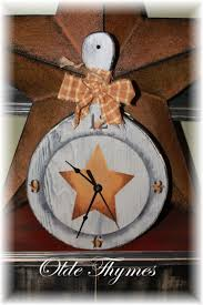 7 best primitive clocks images on pinterest primitive country