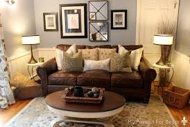 Lancaster Leather Sofa My For Decor Our New Addition