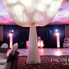 wedding draping michigan pipe drape rental ceiling wall door draping