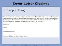 closings for cover letters cover letter closing statements cover