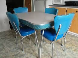 50 s diner table and chairs chrome kitchen table popular retro and chairs best tables yellow