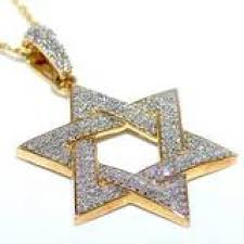 star necklace with diamonds images David pendant 10k gold 0 6ct diamonds pave set 27mm 6 point star jpg