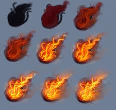 fire tutorial by ryky on deviantart 2 tutorials 3d u0026 2d