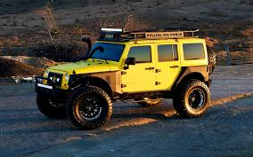 yellow jeep dub magazine big yellow x rolling big power