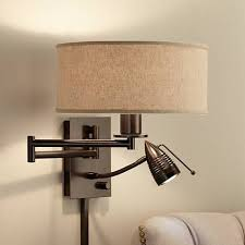 Swing Arm Wall Sconces For Bedroom Best 25 Plug In Wall Lamp Ideas On Pinterest Plug In Wall
