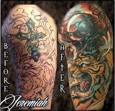 forbidden images studio tattoos tiger