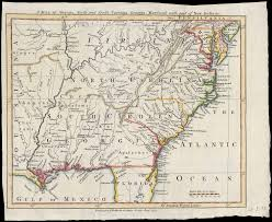 Map Of Southern Virginia by Map Of The Southern Colonies Looking At American History