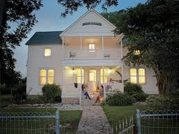 little house fall escape to round top texas southern living