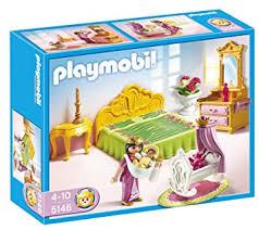 playmobil chambre des parents playmobil 5146 jeu de construction chambre de la reine avec