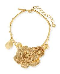 flower accessories oscar de la renta jewelry accessories at neiman