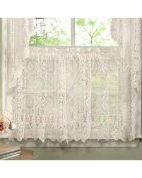 Kitchen Valances And Tiers by Bargains On N Luxurious Old World Style Lace Kitchen Curtains