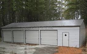 Garage Size Metal Garages Steel Buildings Steel Garage Plans