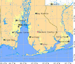 Counties In Alabama By Size Baldwin County Alabama Detailed Profile Houses Estate