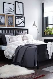 ikea bedroom ideas bedrooms ikea bedroom idea with gray bed and small modern